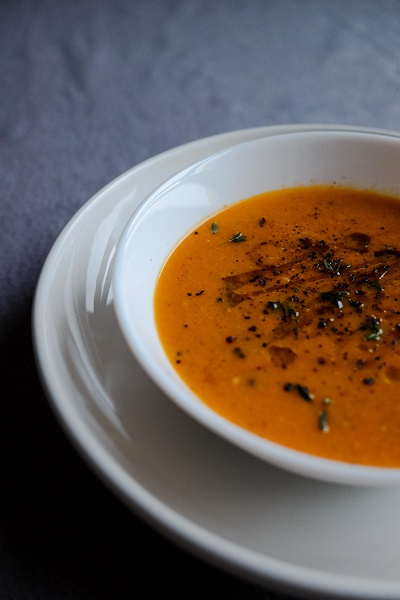 Gordon Ramsay method Tomato Soup